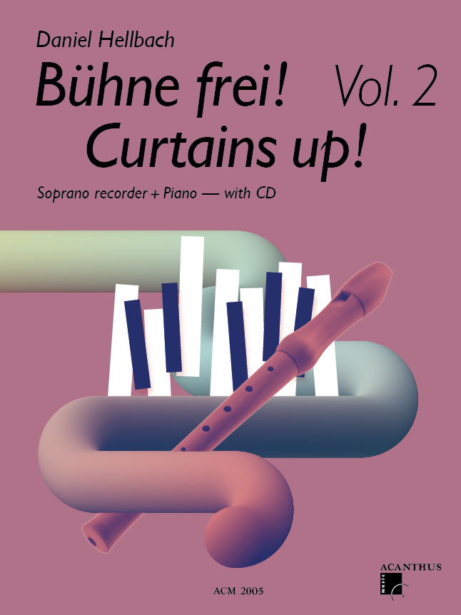 Curtains up! Vol. 2 (incl. CD)
