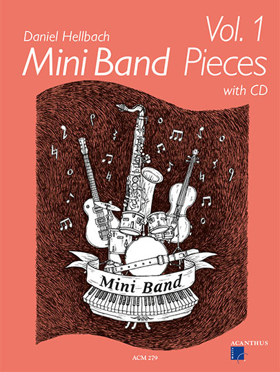 Mini Band Pieces Vol. 1 (with CD)